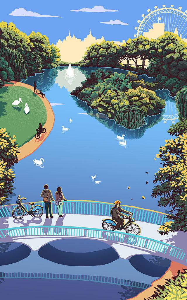 Pretty In Green: Verdant Artworks Of London's Parks