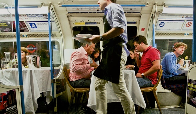 Tube Cocktails And Dinner On A Bus: Transport Themed Eating And Drinking In London