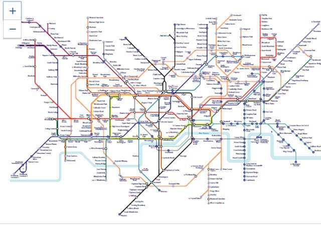 A First Look At The New Tube Map