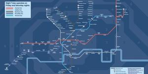 New Night Tube Map Is Out