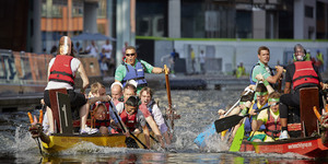Get Fired Up At Paddington's Annual Dragon Boat Race