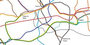 The New London Tube Map: As It Looks Geographically