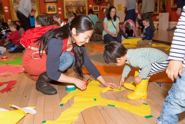 Nail Art, Cardboard Worlds And Camouflage: It's Children's Art Week