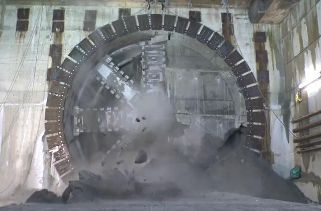 Video: A Drone Flythrough Of Crossrail's Tunnels
