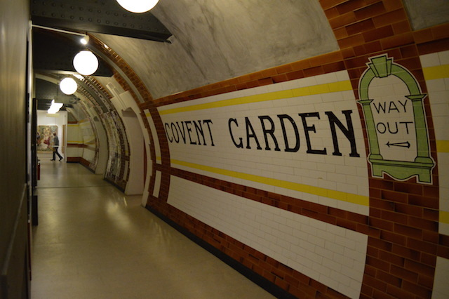 Covent Garden Tube Station In Shropshire Londonist
