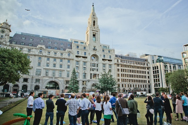 Finsbury Square Bowling Green Aims At New Recruits