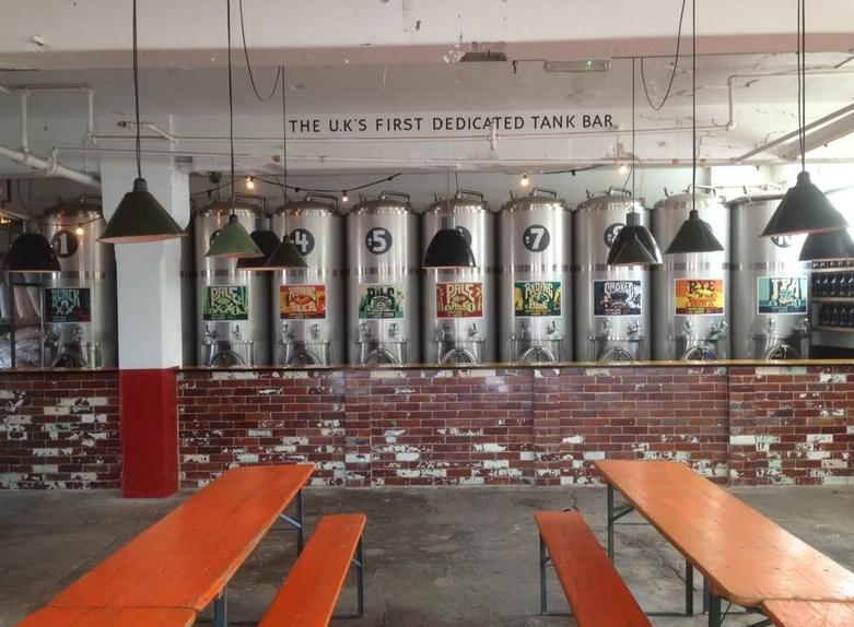 Tanks (Of Beer) Invade London