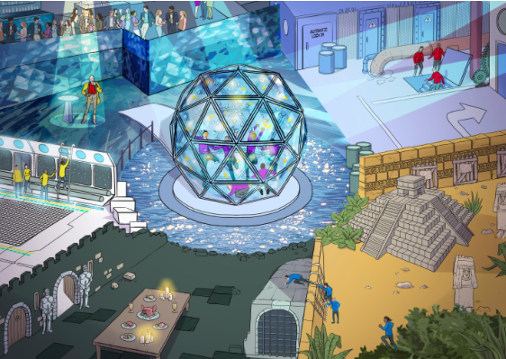 The Crystal Maze Is Coming To London, And You Can Play