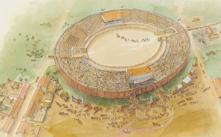 Where Is London's Roman Chariot Racing Arena?
