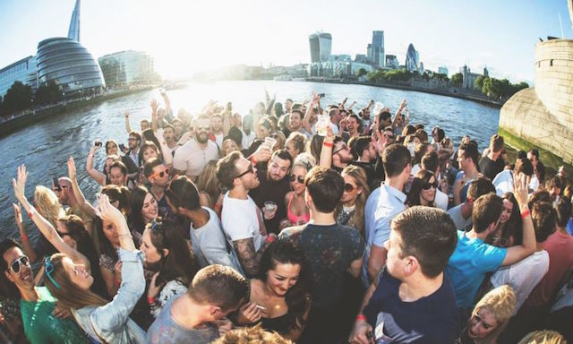 Tonight: Summer Sunset Boat Party On The Thames