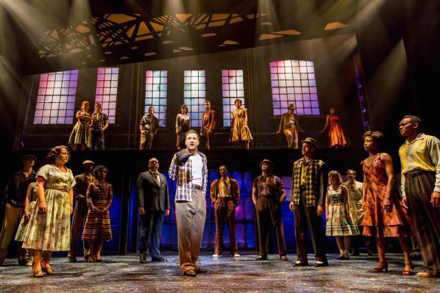 X Factor's Matt Cardle Joins Beverley Knight In Memphis