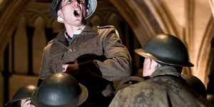 We Band Of Brothers: Henry V Goes First World War