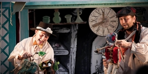 Al Fresco Pinocchio Is Anything But Wooden