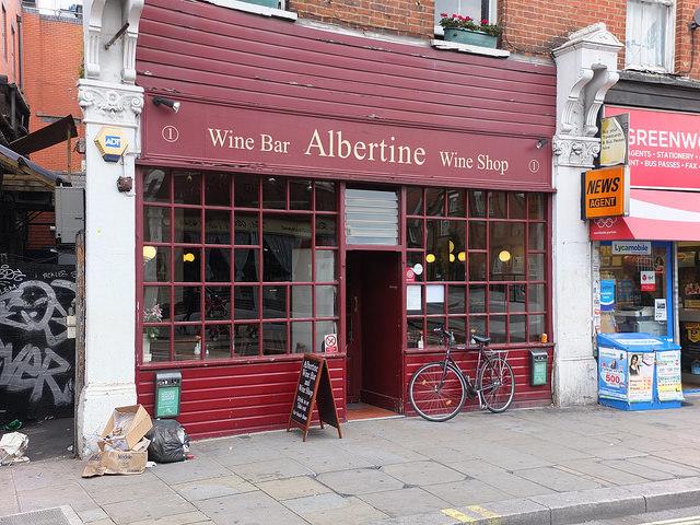 London's Best Independent Wine Shops: Albertine