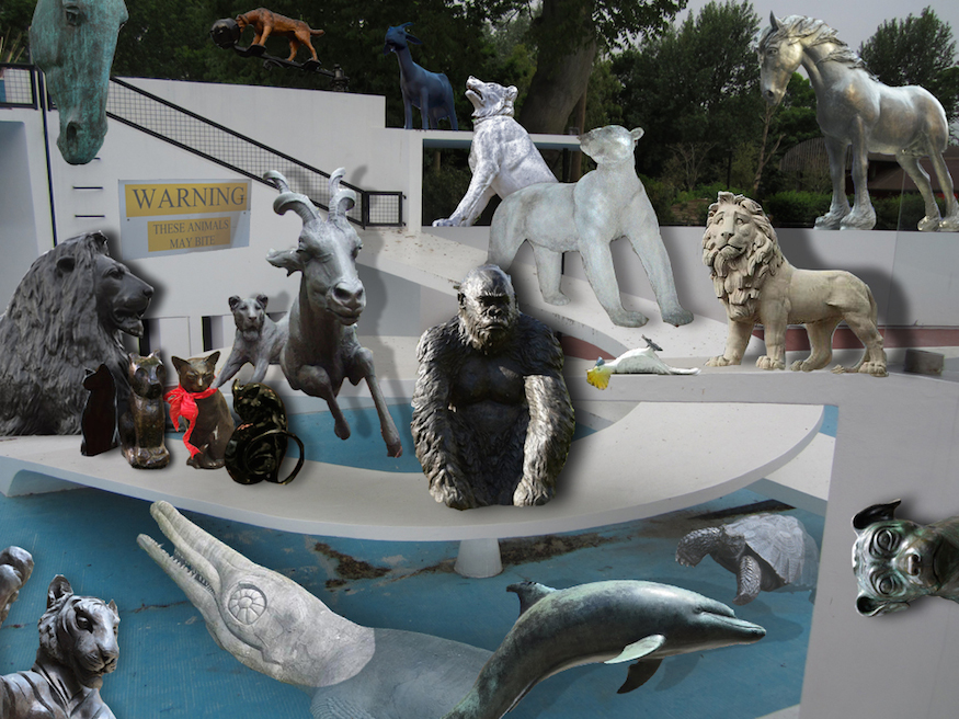 A Question Of Animal Sculptures