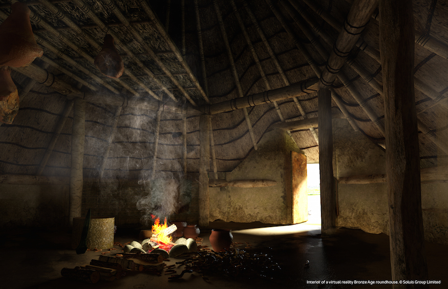 Immerse Yourself In Virtual Reality Bronze Age Britain