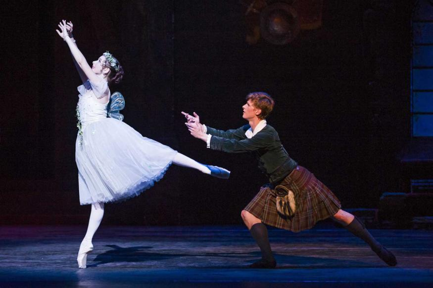 Historic Ballet La Sylphide Is Intriguing But Not Exceptional