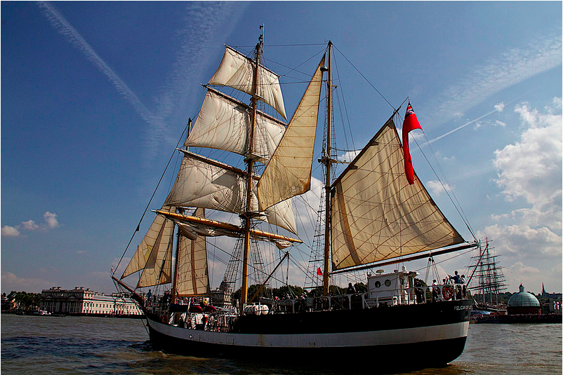 Ahoy! London's Tall Ships Festival Returns