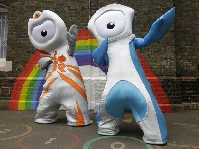 London 2012 Wenlock Olympic London 2012 Mascot