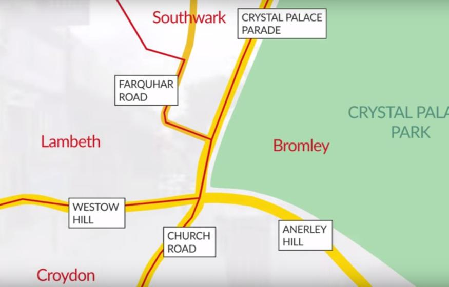 Video: Where Can You Visit Four Boroughs In Less Than A Minute?