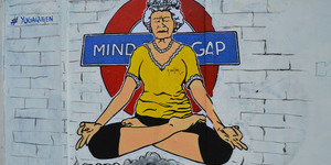 The Queen: A London Street Art Icon