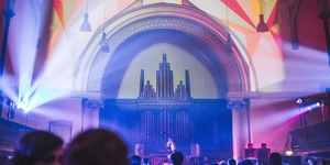 How A Church Organ Became The Focal Point Of A Rave