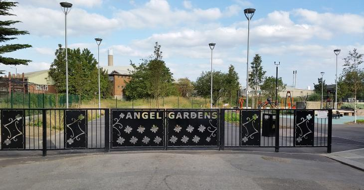 London's Little Gardens: Angel Gardens