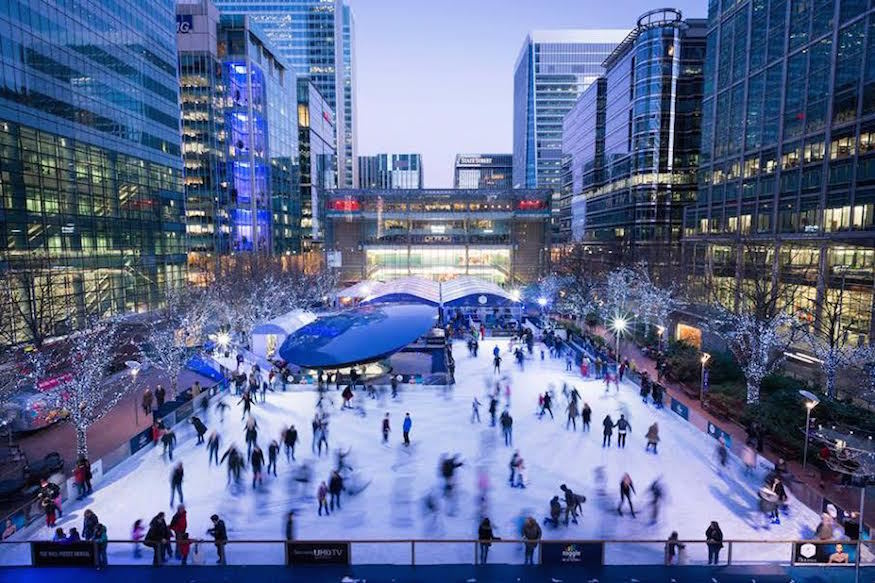 Seasonal Skating: London's Christmas Ice Rinks 2015
