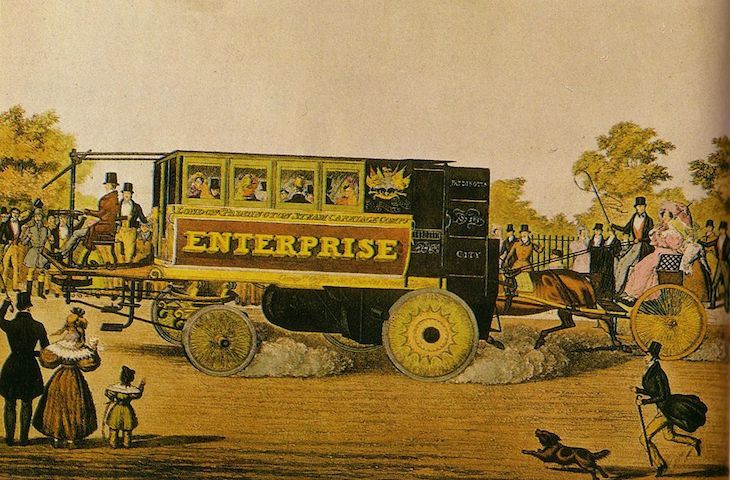 London Had Horseless Buses When Dickens Was A Teenager