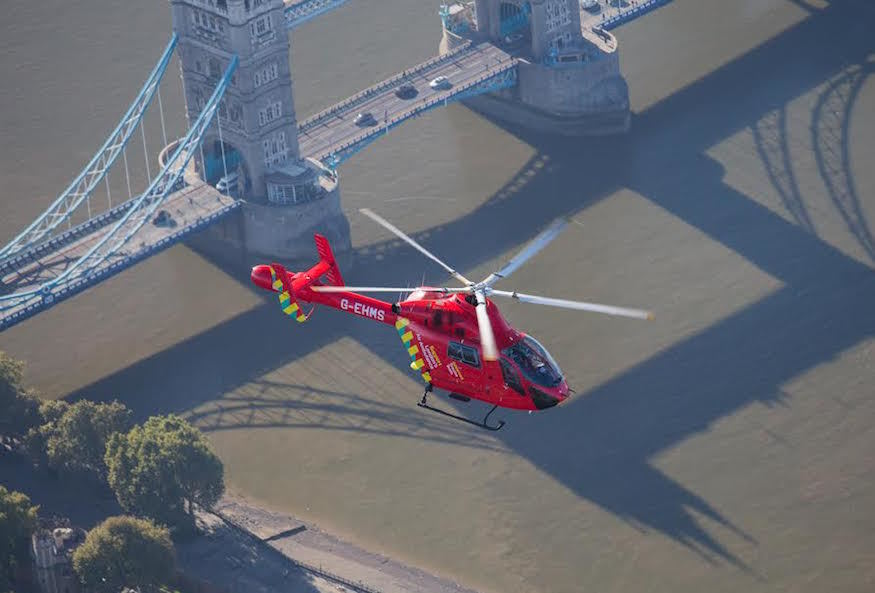 London's Air Ambulance Gets Second Helicopter