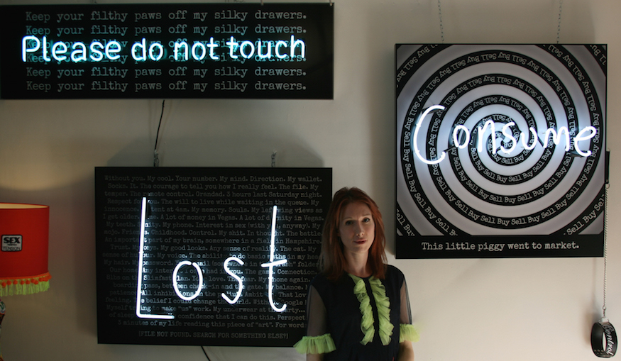 Shining A Light On Neon Artist Rebecca Mason