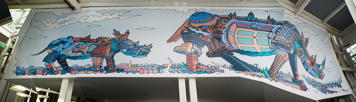 Spot The London Buildings In These New Hospital Murals