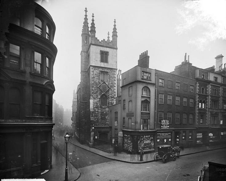 Have a nosy at what London looked like 100 years ago