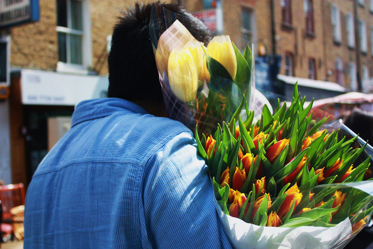 In Photos: Columbia Road Flower Market