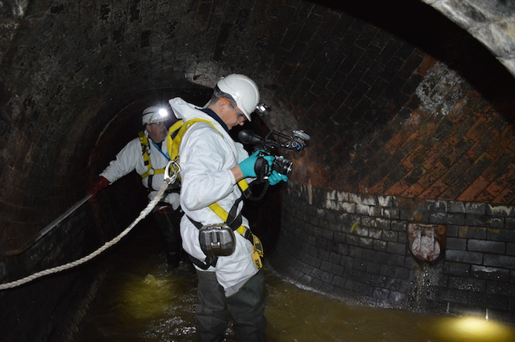 Video: Inside The Fleet Sewer