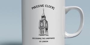 Buy This Mug With A Massive Clock On It