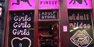 Video: Soho's Sex Shop Made From Felt