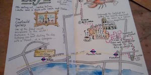 Three Days In London In Hand-Drawn Maps