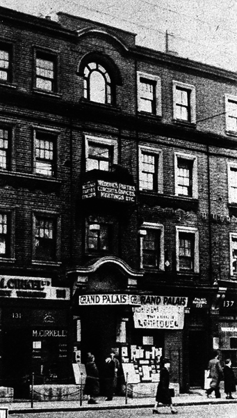 London's Lost Yiddish Theatre
