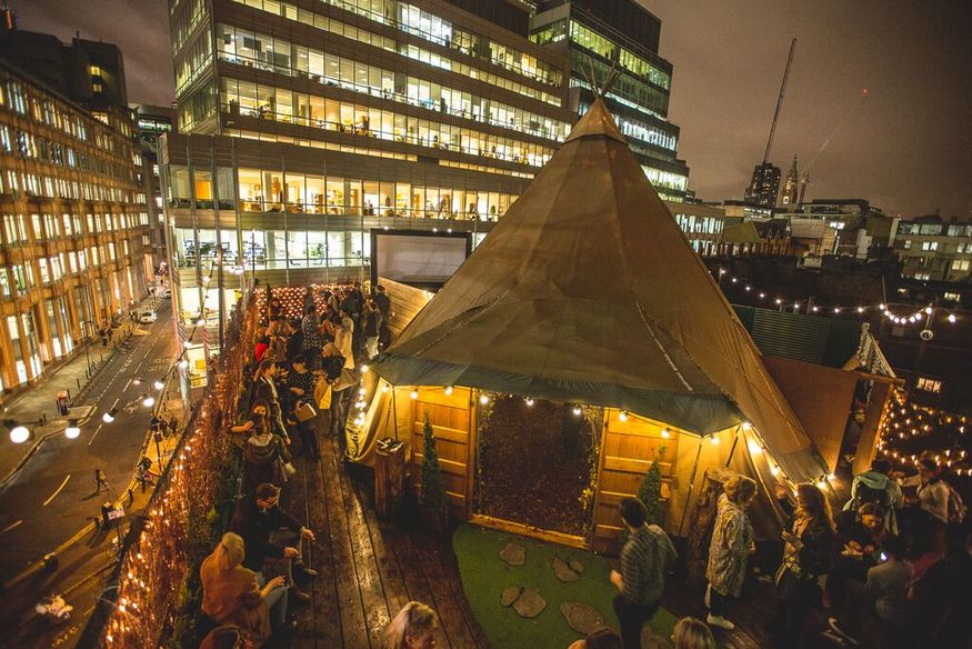 London's Best Outdoor Winter Drinking Pop-Ups 2015