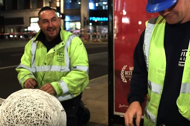 Escorts To Christmas Light Installers: Meet London's Night Workers