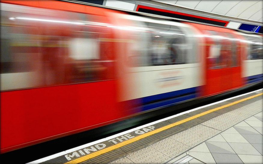 The Optimum Speed Of A Tube Train Is Slower Than You'd Think