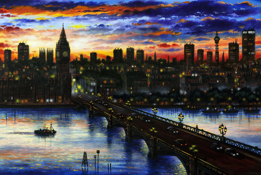 Has London Ever Looked So Good? The Art Of John Duffin