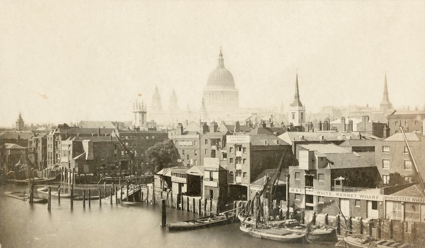 Take a look at some of Historic England's archive images of the capital