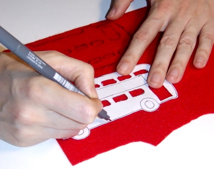 How To Make A London Bus Christmas Tree Decoration  Londonist