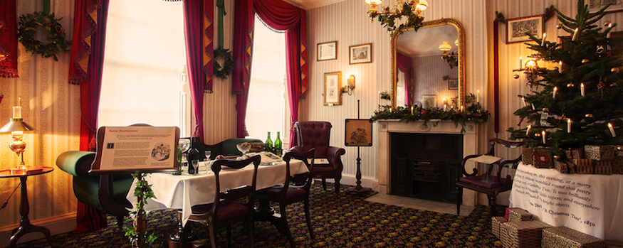 Step Into A Dickensian Christmas At The Charles Dickens