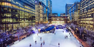 Deal Of The Day: Half-Price Ice Skating At Canary Wharf