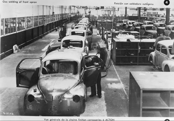 The history of car manufacturing in London