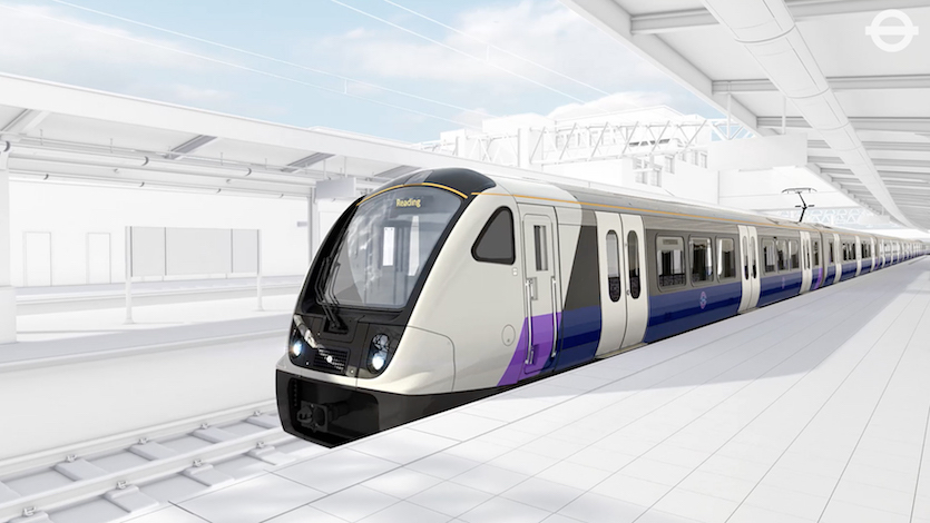 First Look At Crossrail Train Designs