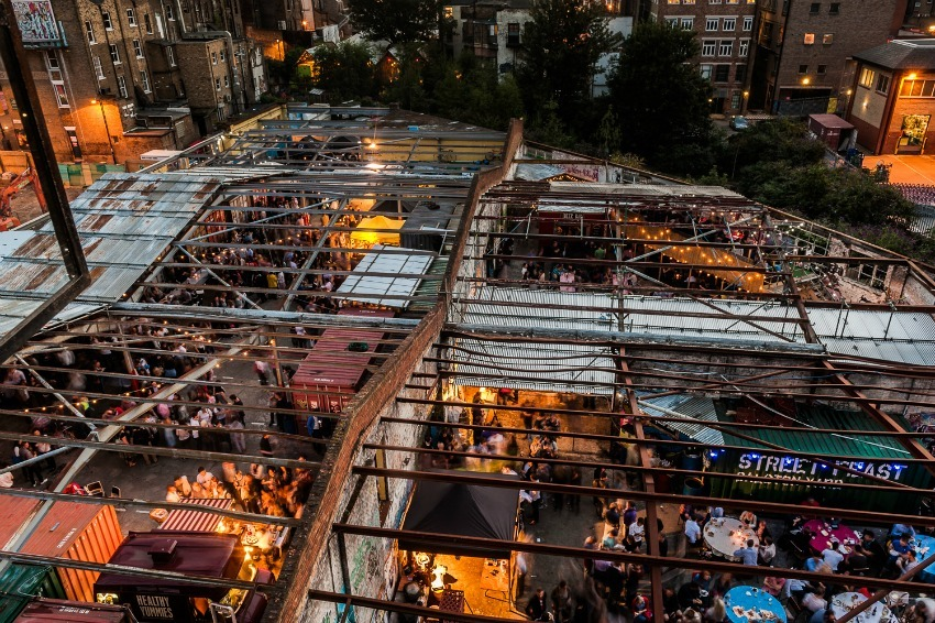 £3.5m Crowdfunder Launched To Build A New Street Food Market For London
